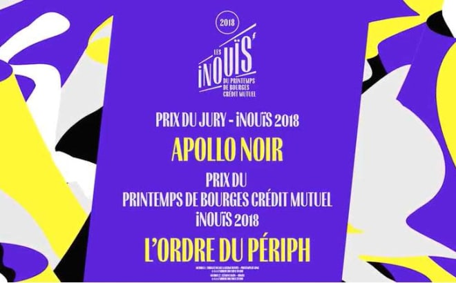 Apollo Noir, vainqueur des Inouïs du Printemps de Bourges !