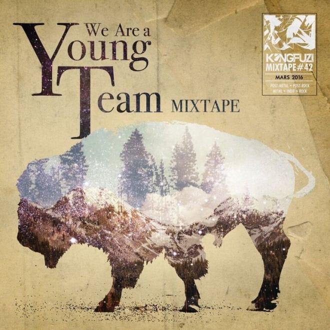 Mixtape KONGFUZI #42: We Are A Young Team Mixtape