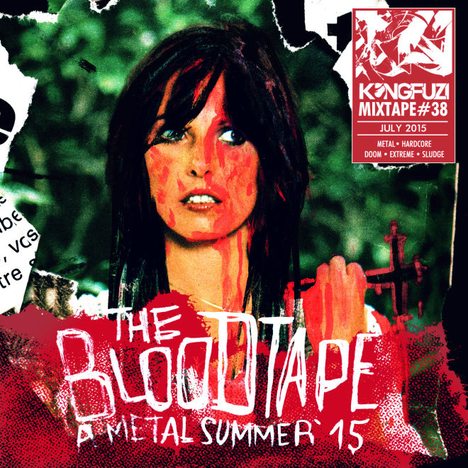Mixtape KONGFUZI #38 : The Blood Tape