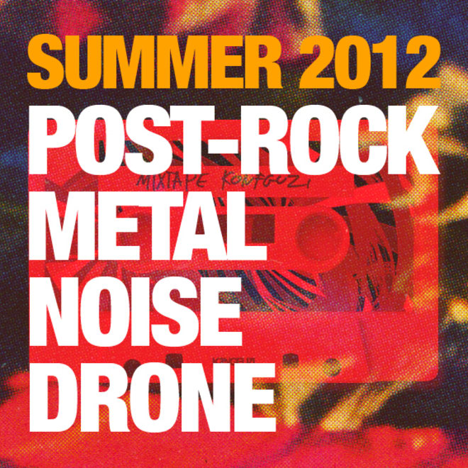 Mixtape KONGFUZI #5 : Summer Metal 2012