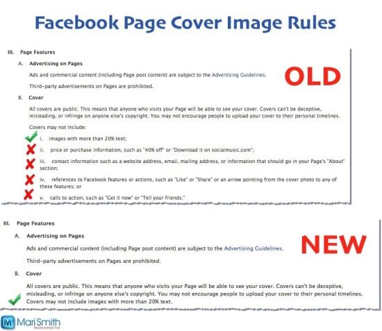 Facebook changes cover image rules march 2013