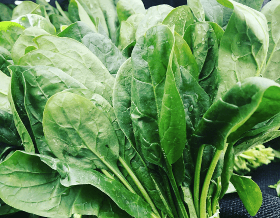 how spinach can help you with acidity
