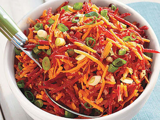 carrot beetroot salad