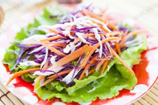lettuce carrot salad