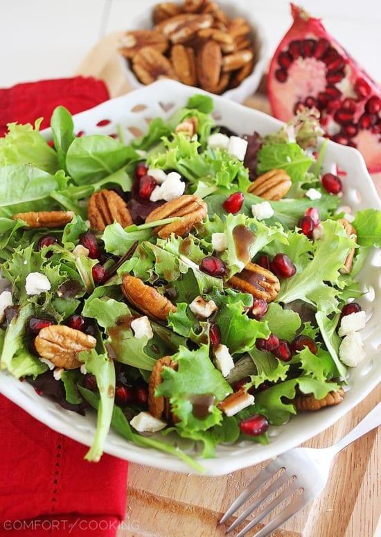 nutty salad vegetable