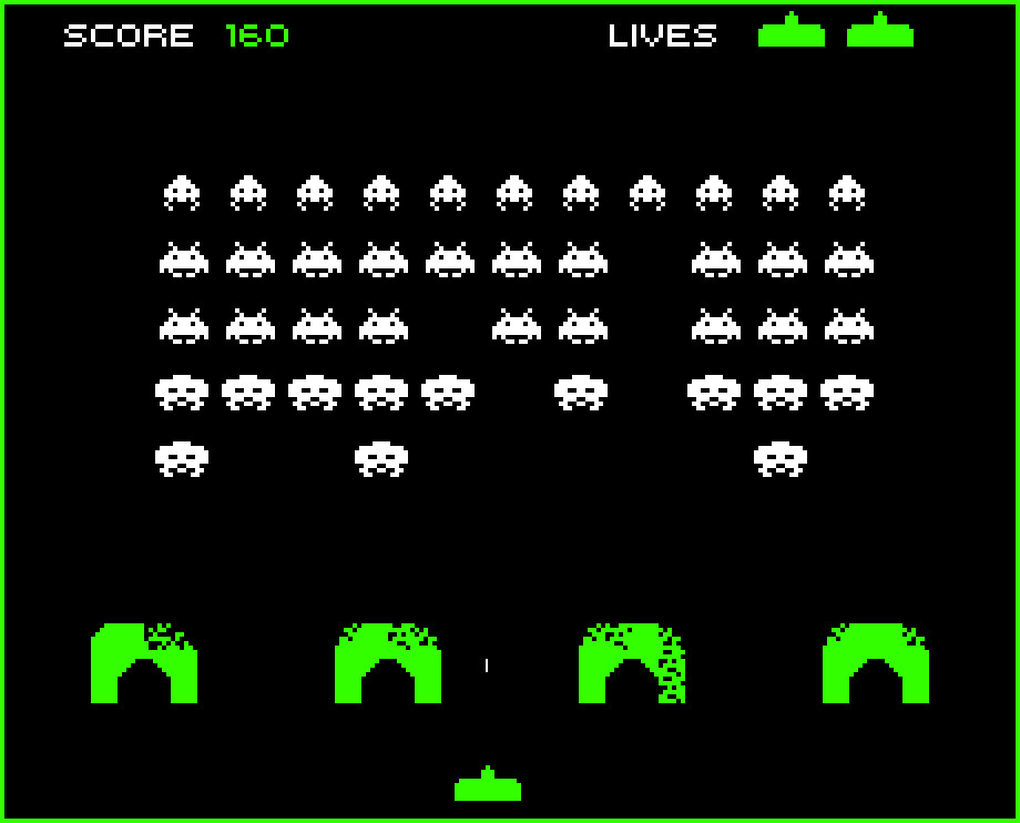 Space Invaders - The Original Wave Shooter?