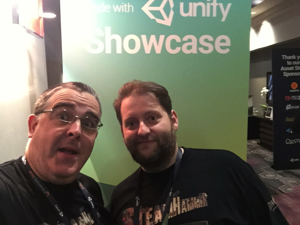 Mark Bellinger & Tomasz Kirsz at Unite '16 in Los Angeles