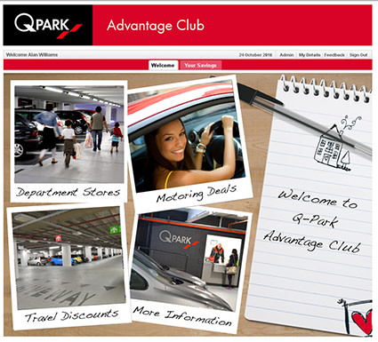 Q-Park Advantage Club