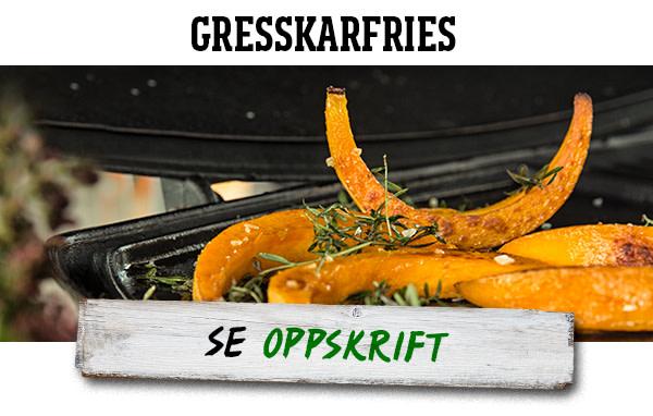 Gresskarfries