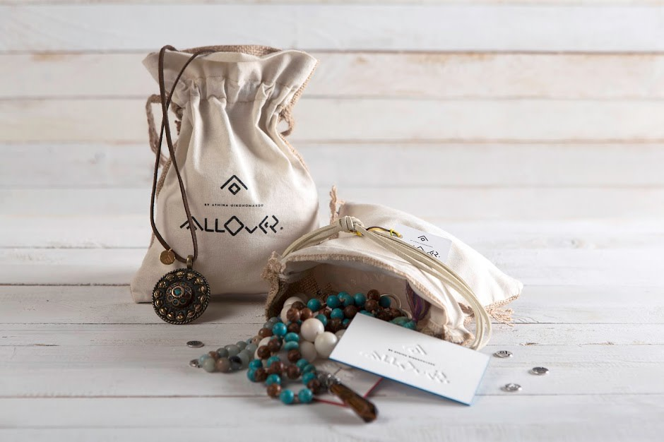 AllOver Hand Crafted Jewellery Packaging By Spoondesign