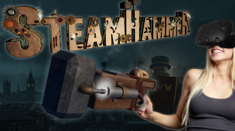HTC Vive Games - SteamHammerVR