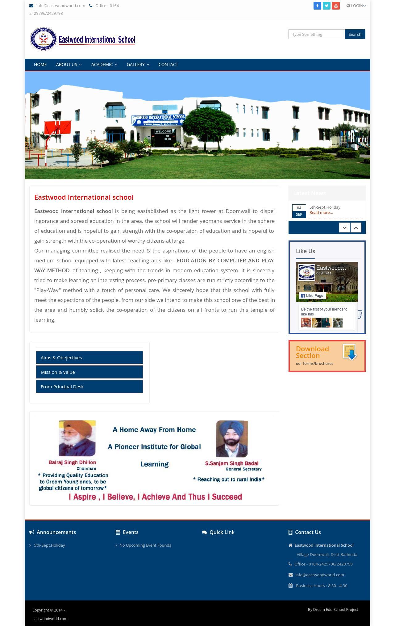 Eastwood International School