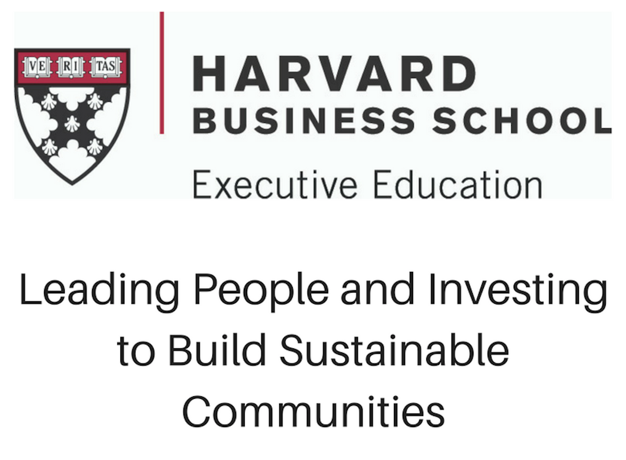 Leading people and investing to build sustainable communities 727