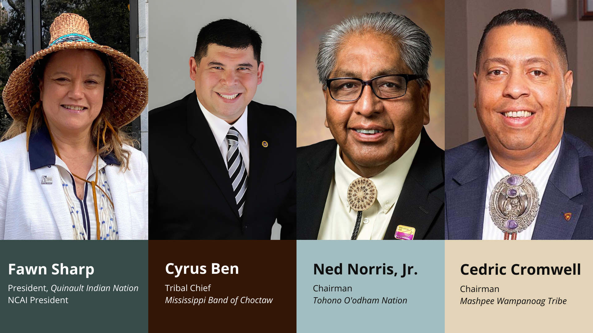 Learn From Tribal Leaders at #NAFOAFALL2020