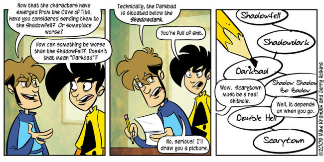In Search Of A Robust Cosmology by Penny Arcade