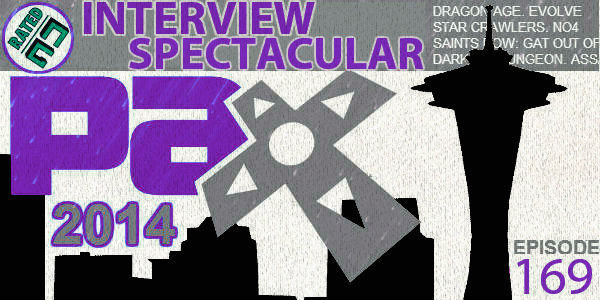 Rated NA 169: PAX Prime 2014 Interview Spectacular