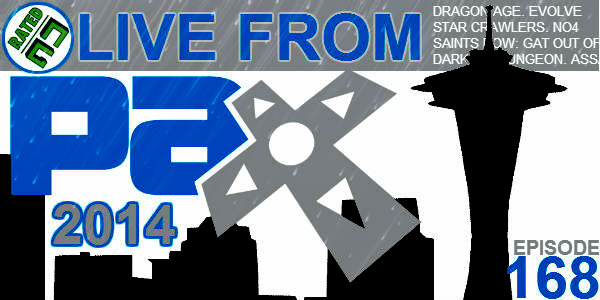 Rated NA 168: Live From PAX Prime 2014