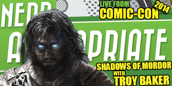 Comic-Con 2014: Middle Earth Shadow Of Mordor With Troy Baker