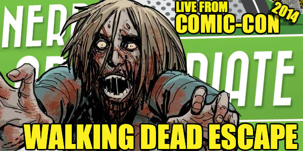 Comic-Con 2014: Surviving The Walking Dead Escape