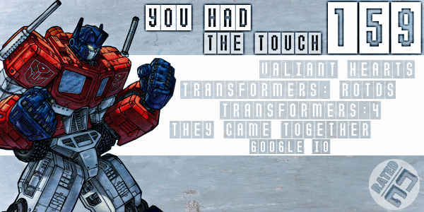 Rated NA 159: You Had The Touch