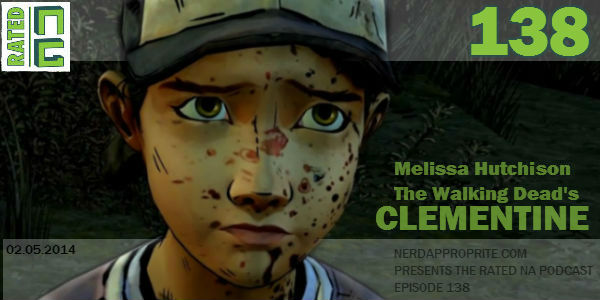 Rated NA 138: Melissa Hutchison From Telltale Games The Walking Dead