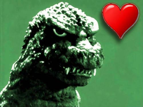 Godzilla Sized Feelings For Godzilla