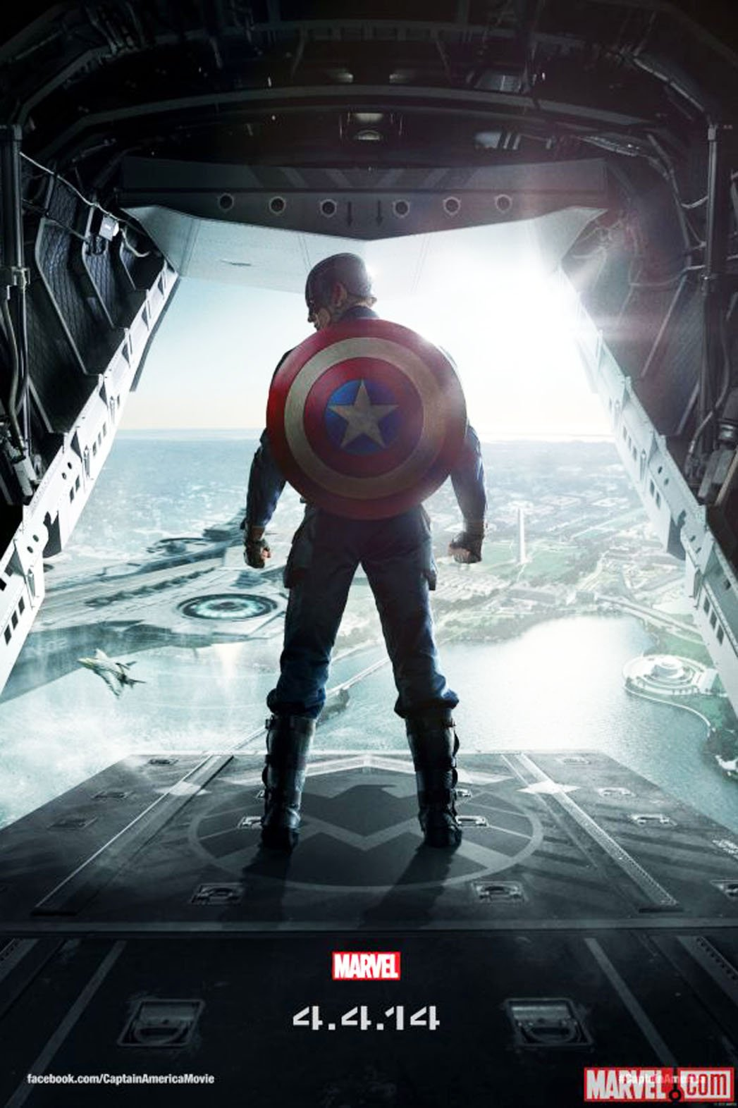 Captain America:The Winter Soldier Trailer Released