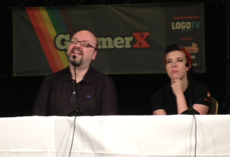 David Gaider and Jessica Merizan