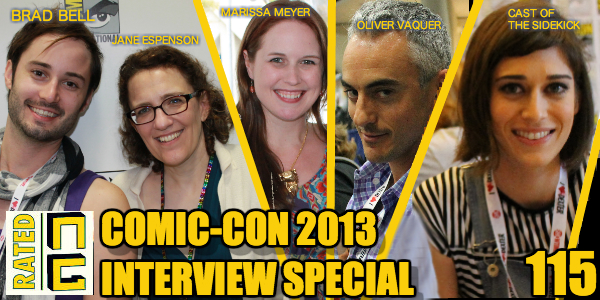 Rated NA 115: SDCC 2013 Interview Spectacular!