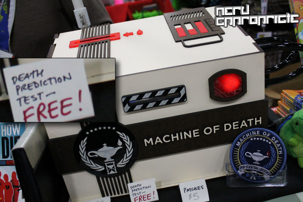 Comic Con 2013: The Machine Of Death