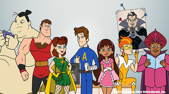 Comic-Con 2013: The Awesomes