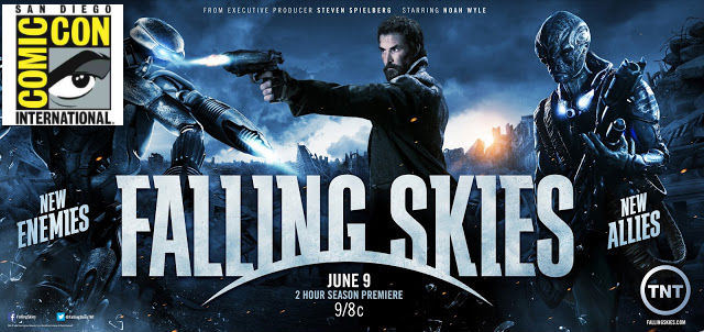 Comic-Con 2013: Falling Skies Panel – Skitters Took My Baby!
