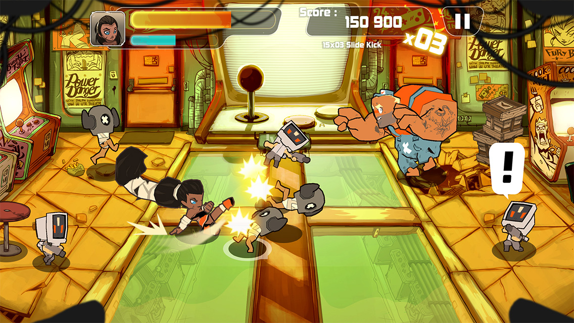 Combo Crew Takes A Swipe At Classic Arcade Fighting Action