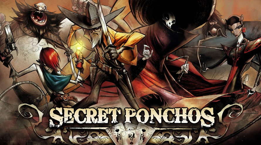PAX East 2013: Secret Ponchos – Style Drenched Spaghetti Time