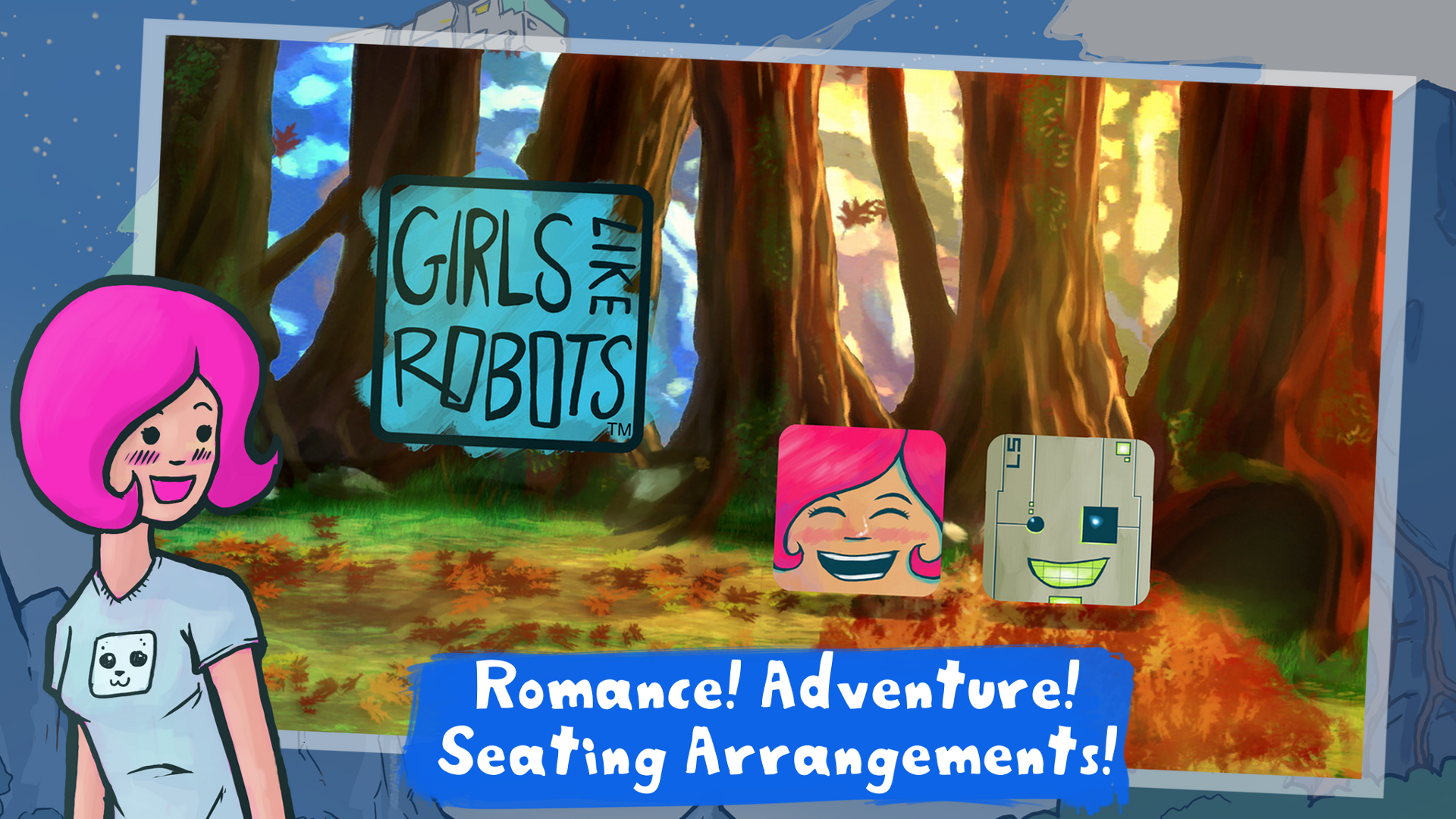 Girls Like Robots Makes A Fun-filled Foray Into The Adventure-Seating Arrangement Genre
