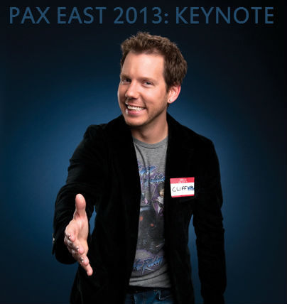 PAX East 2013: Keynote – A Personal Moment With Cliffy B