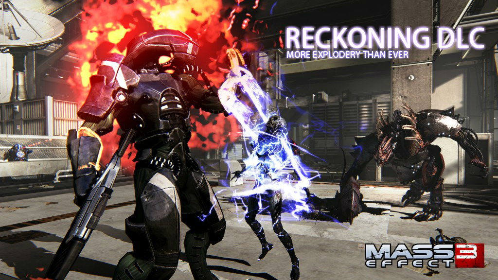 Mass Effect 3: Reckoning DLC Looks More Explodey Than Ever