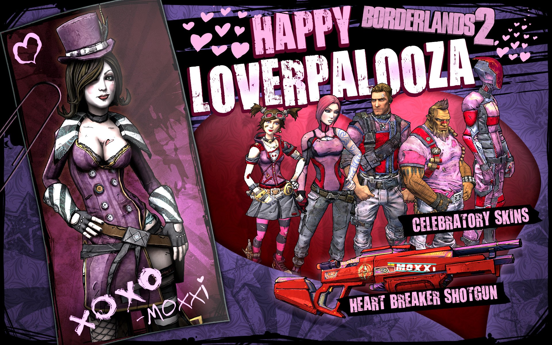 Happy 'V' Day – Moxxi Sends Her Love!