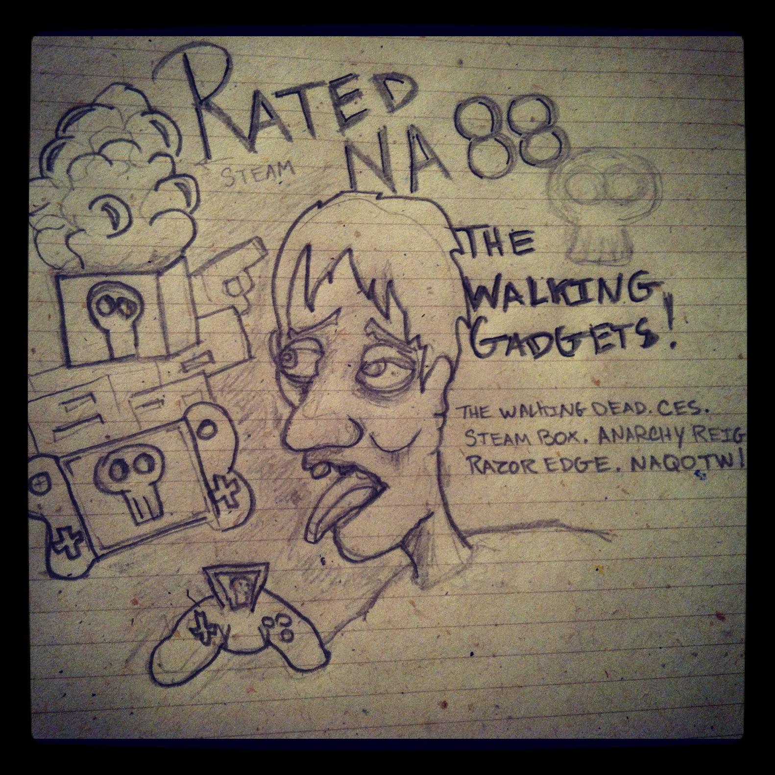 Rated NA 88: The Walking Tech
