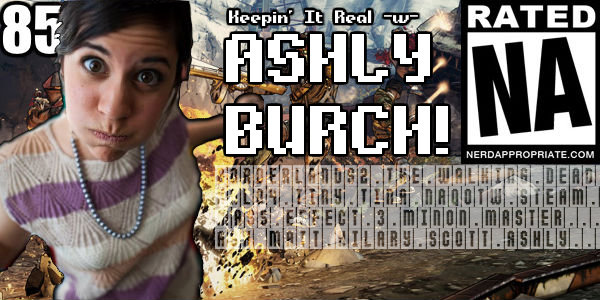 Rated NA 85: Keepin' It Real -w- Ashly Burch