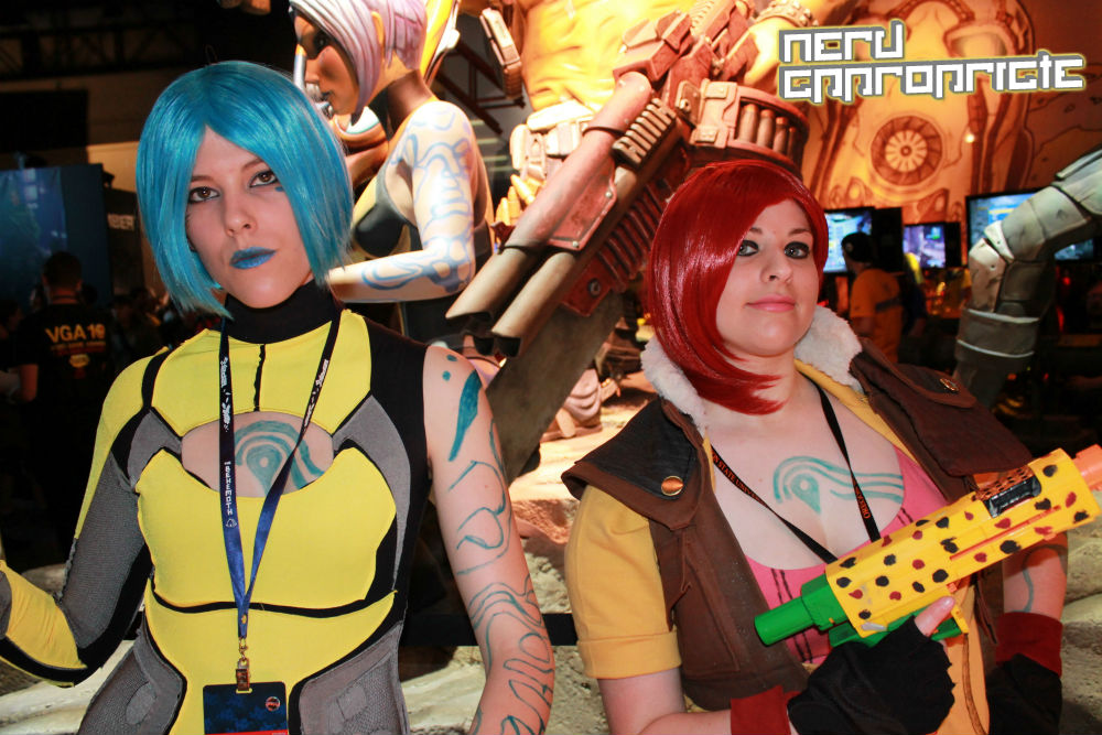 NA BORDERLANDS2 COSPLAY