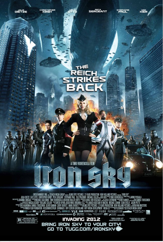 Comic-Con 2012: Iron Sky Invades San Diego With Space Nazi Fury!