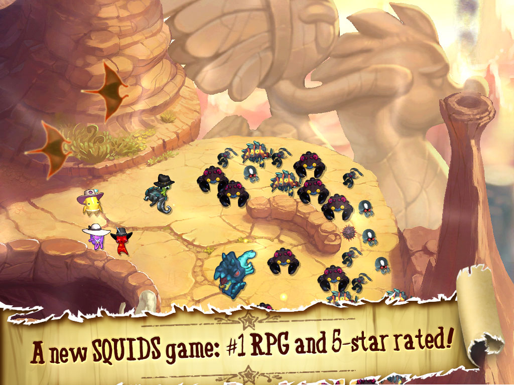 SQUIDS Wild West For Mobile. Giddy Up!