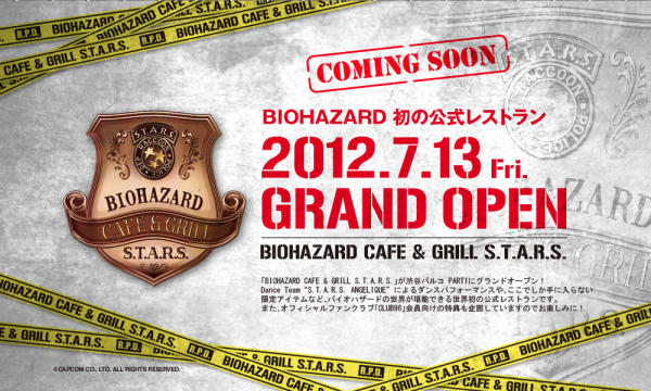 Delicious Jill Sandwhich!  Resident Evil Restaurant Opens In Japan.
