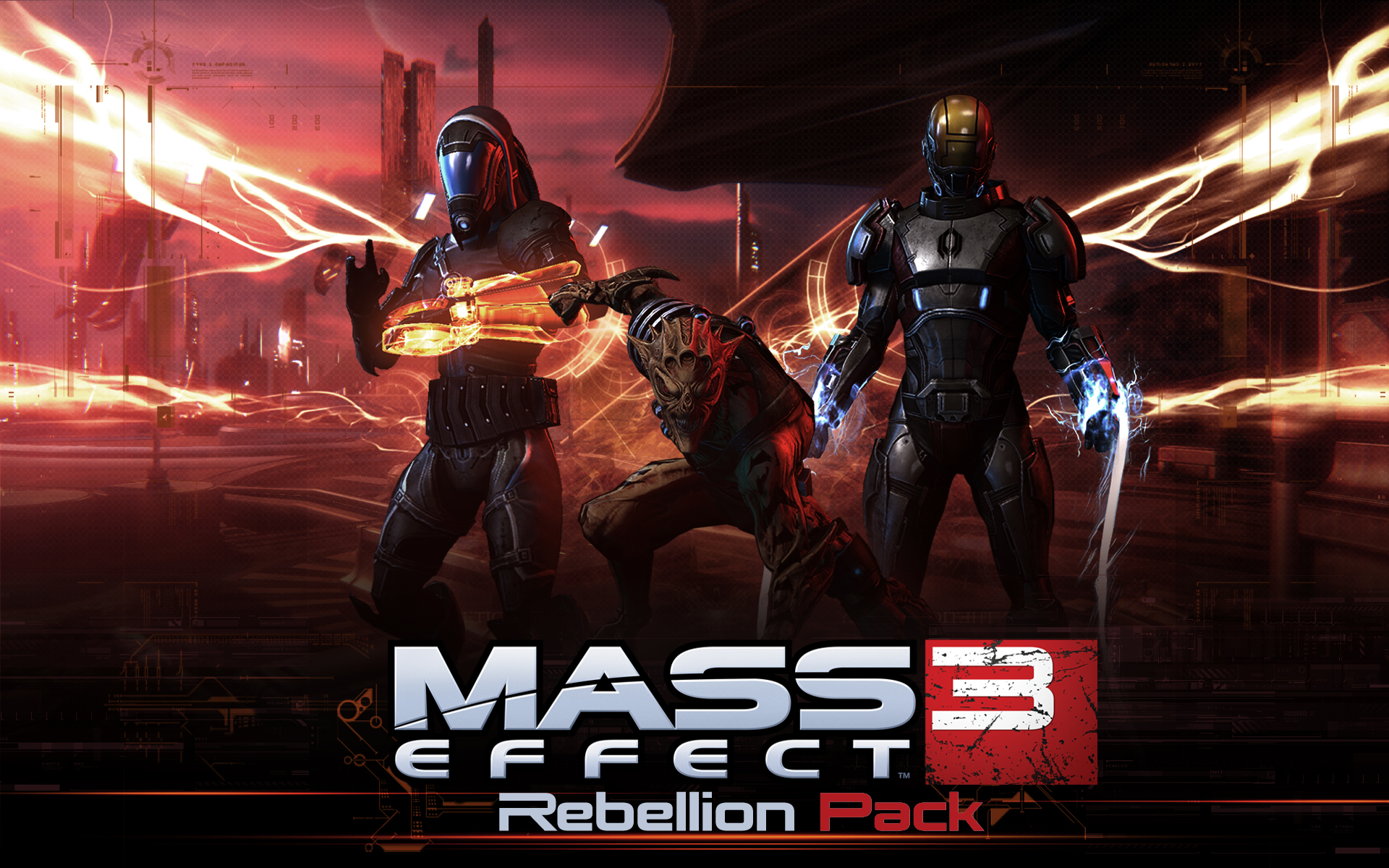 "Mass Effect 3: Rebellion Pack Drops May 29th ""for Thessia!"""
