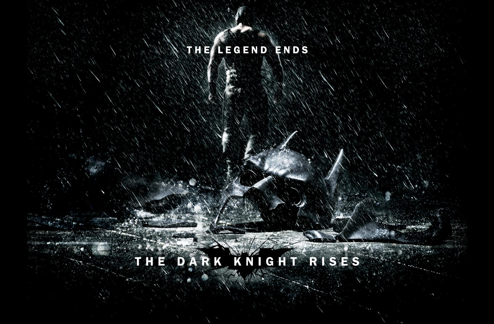 The Dark Knight Rises The Legend Ends Wallpaper
