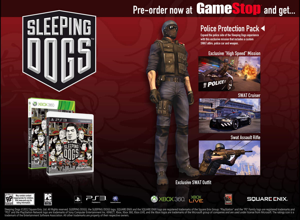 Sleeping Dogs Police Outfit