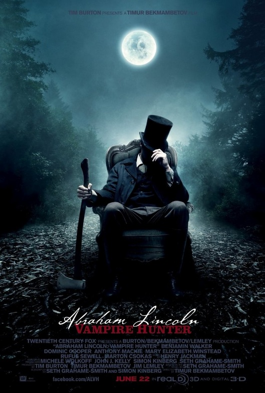 Abraham Lincoln Vampire Hunter: Honestly Awesome! (VIDEO)