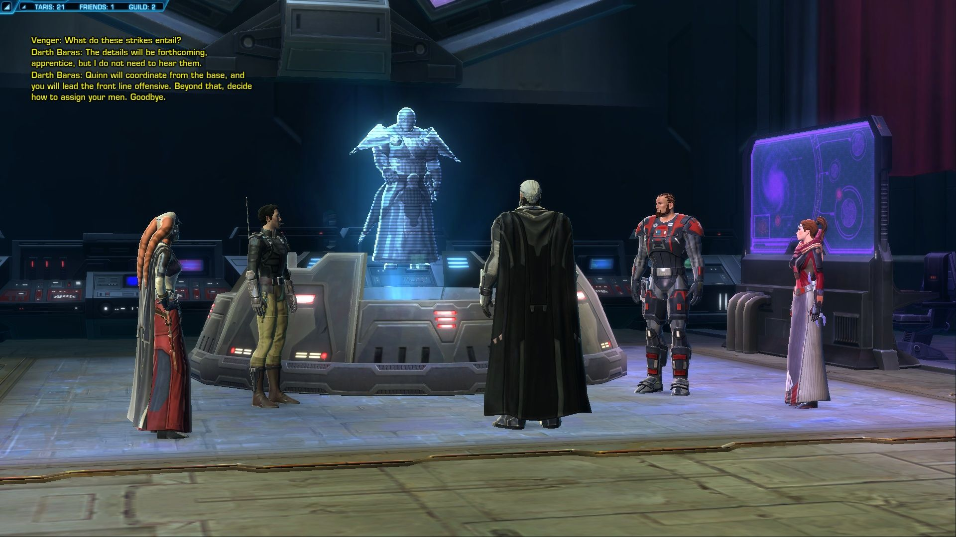 NA SWTOR JUST WALK AWAY