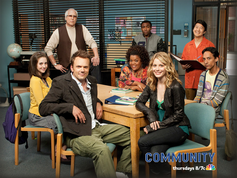 Community Nbc Tv Show Wallapper 01